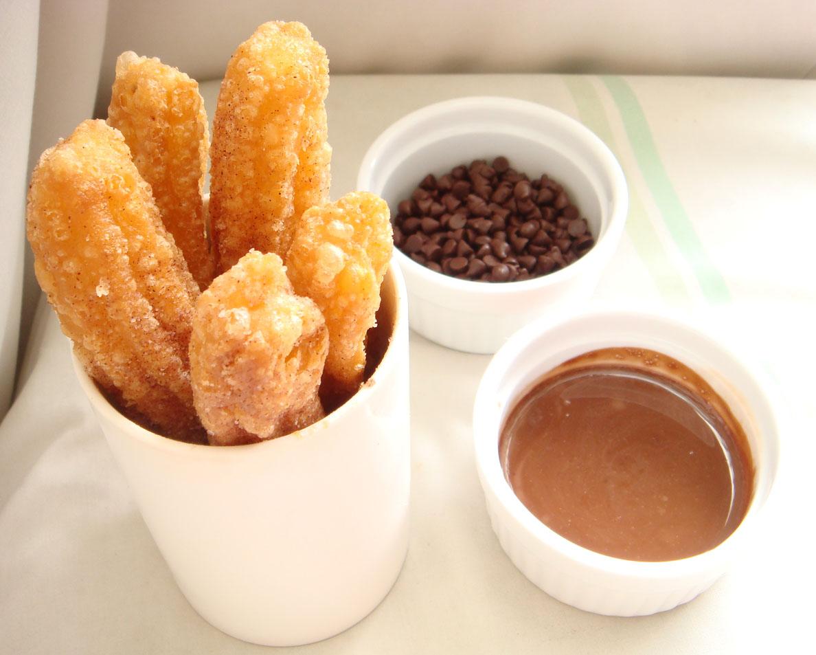 Churros Con Chocolate | Crustabakes