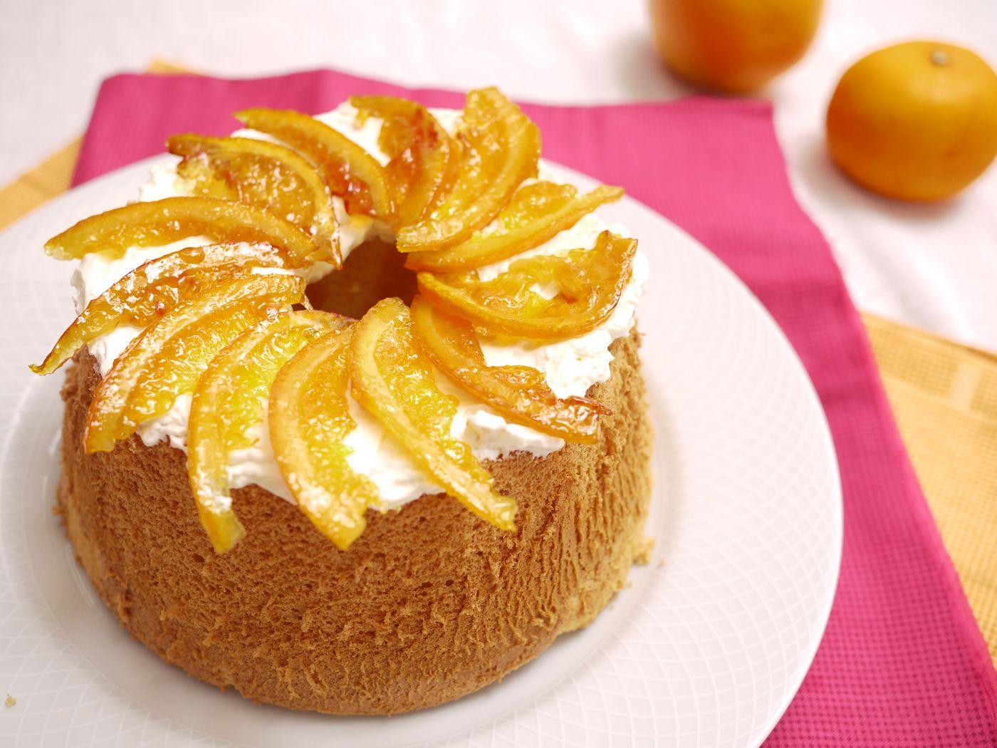 Candied Orange Slices Cake