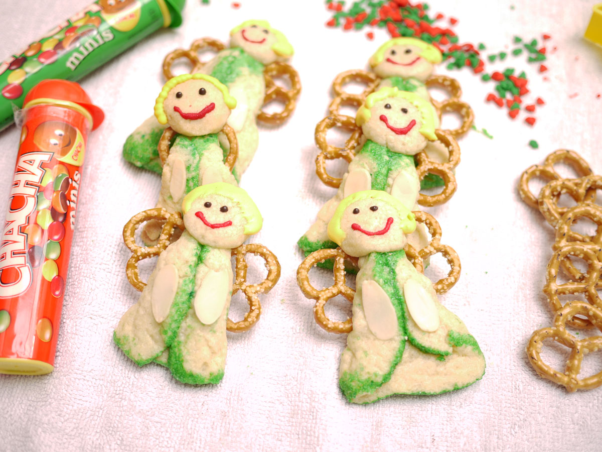 12 Weeks Of Christmas Cookies Week 8 Angel Cookies Crustabakes