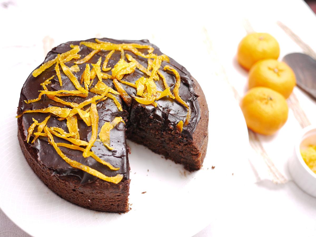cream orange coffee cake with chocolate pecan streusel almond orange ...