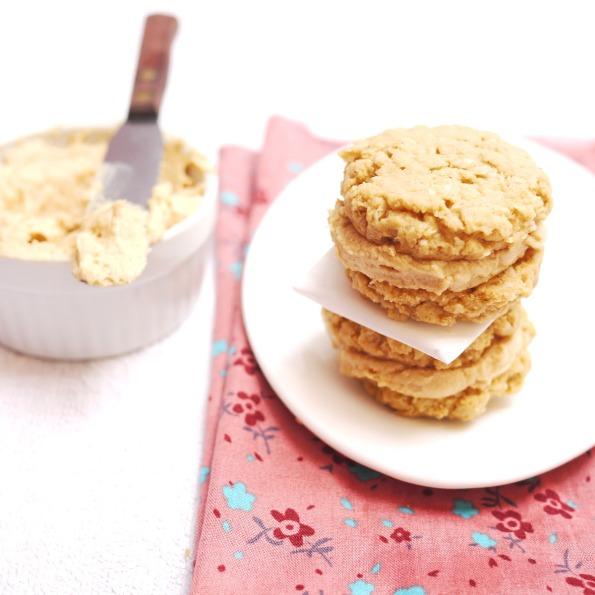 Oatmeal Peanut Butter Sandwich Cookies | Crustabakes