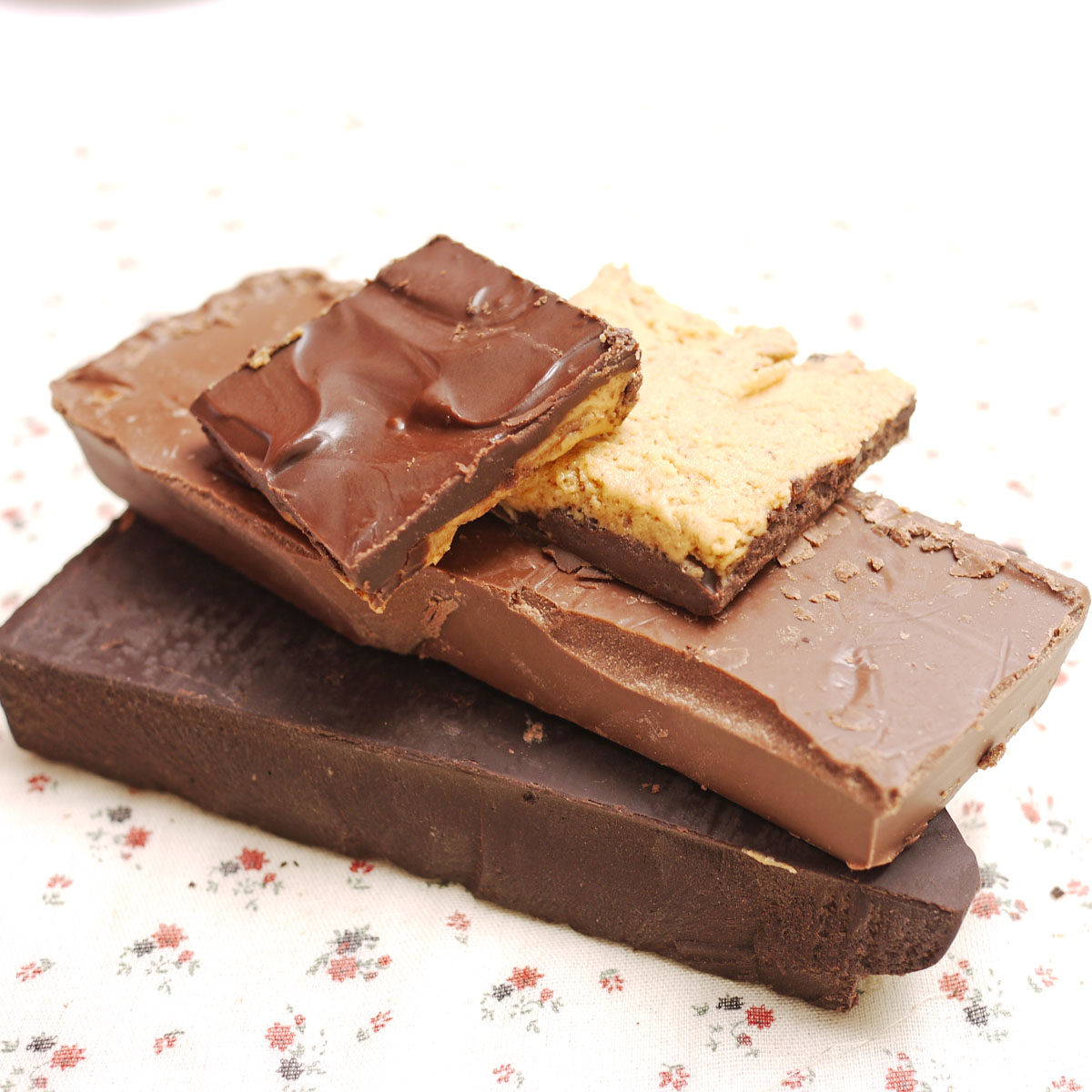 chocolate peanut butter squares 5