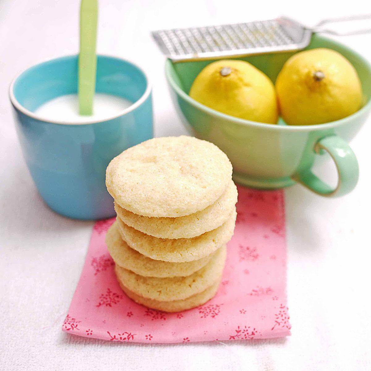 Lemon Cookies | Crustabakes