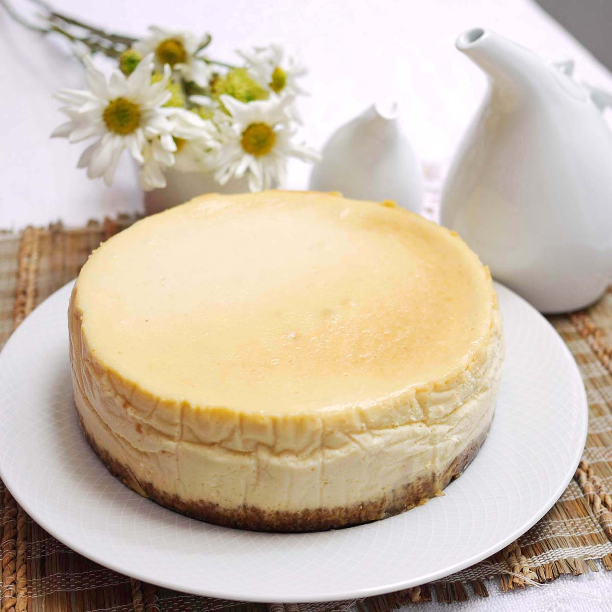 New York Cheesecake | Crustabakes