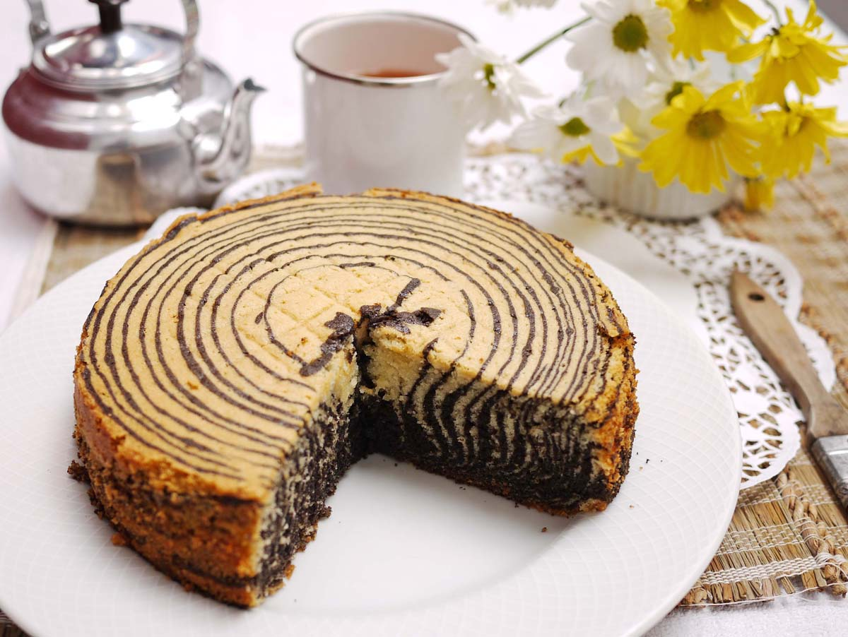 Zebra Cake | Crustabakes