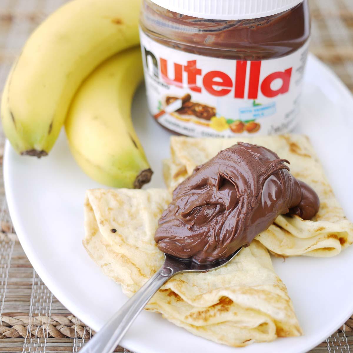 04 Banana Nutella Crepes