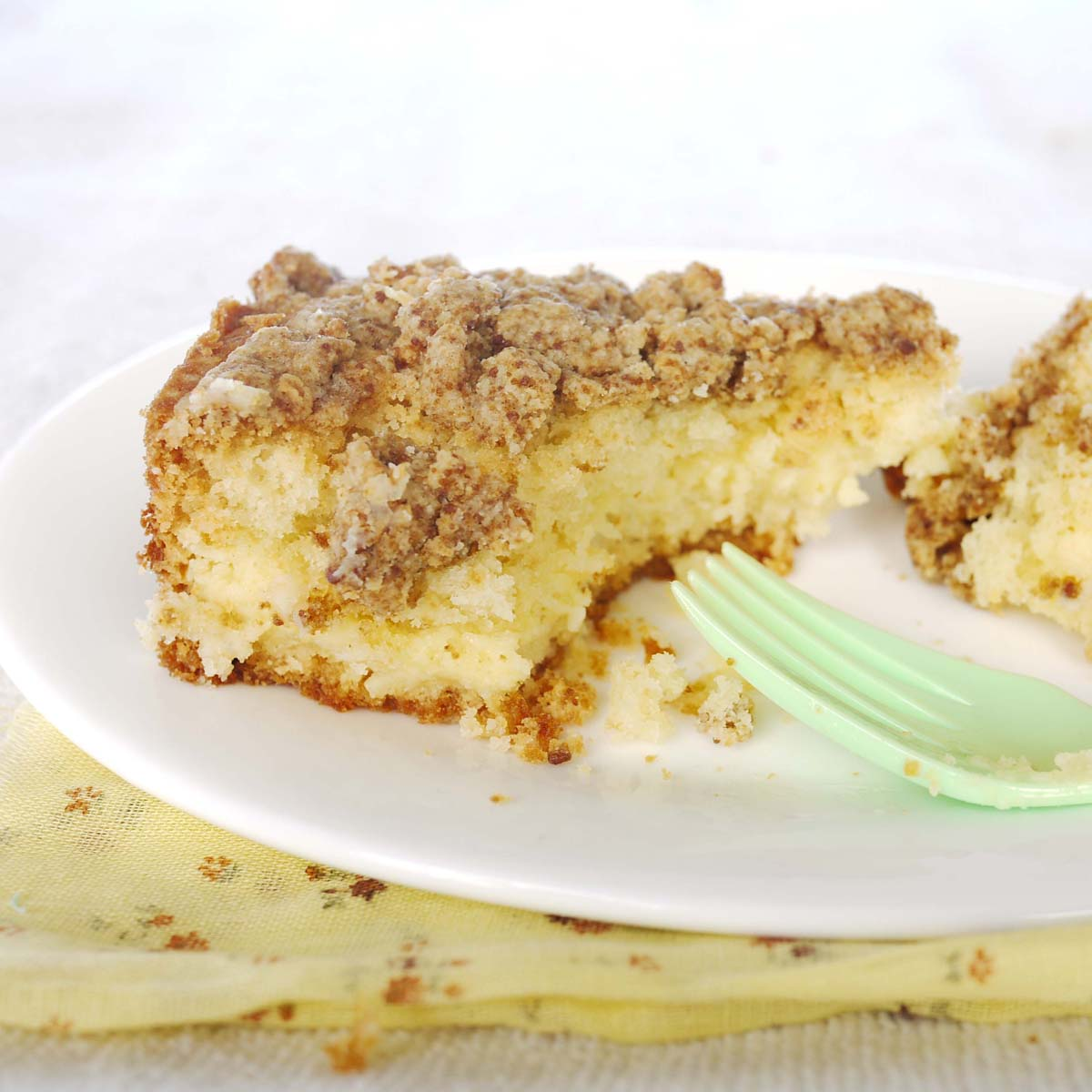 Coffee Crumb Cake With Lemon Cheesecake Filling Crustabakes