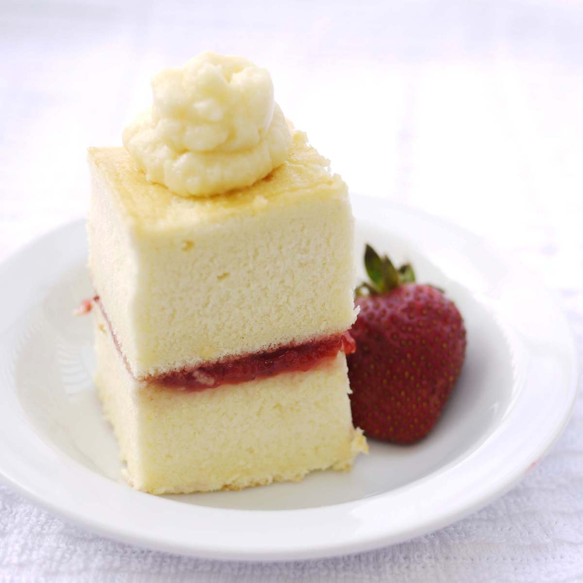 Preserving Strawberries Cake Strawberry Preserve And