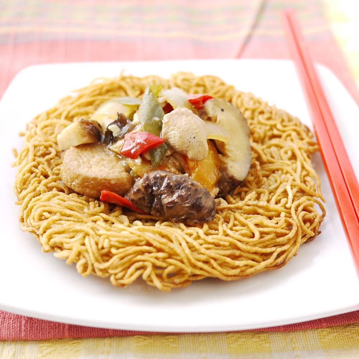 Chinease Food: Ee Fu Noodles