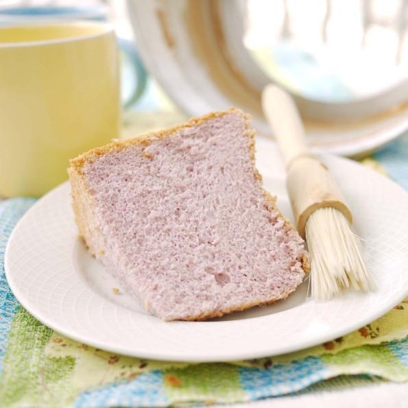 Yam Chiffon Cake | Crustabakes