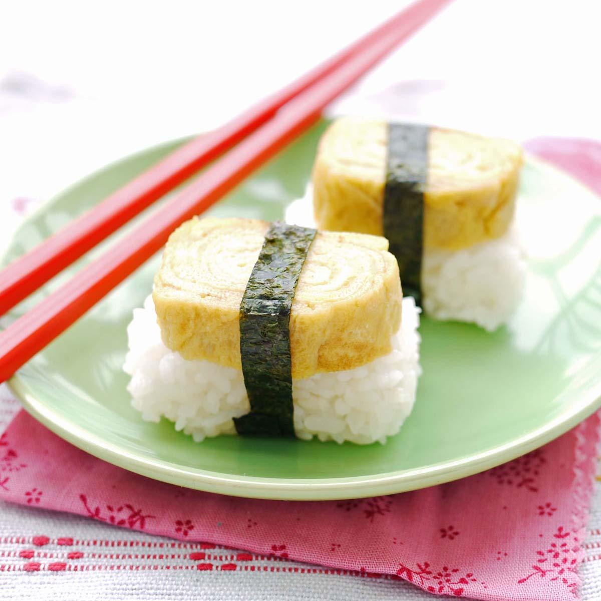 Tamago Nigiri Sushi Tamago Nigiri Around