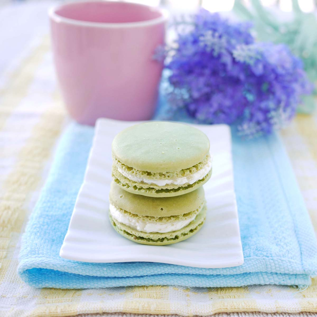 Green Tea Macarons Recipes — Dishmaps