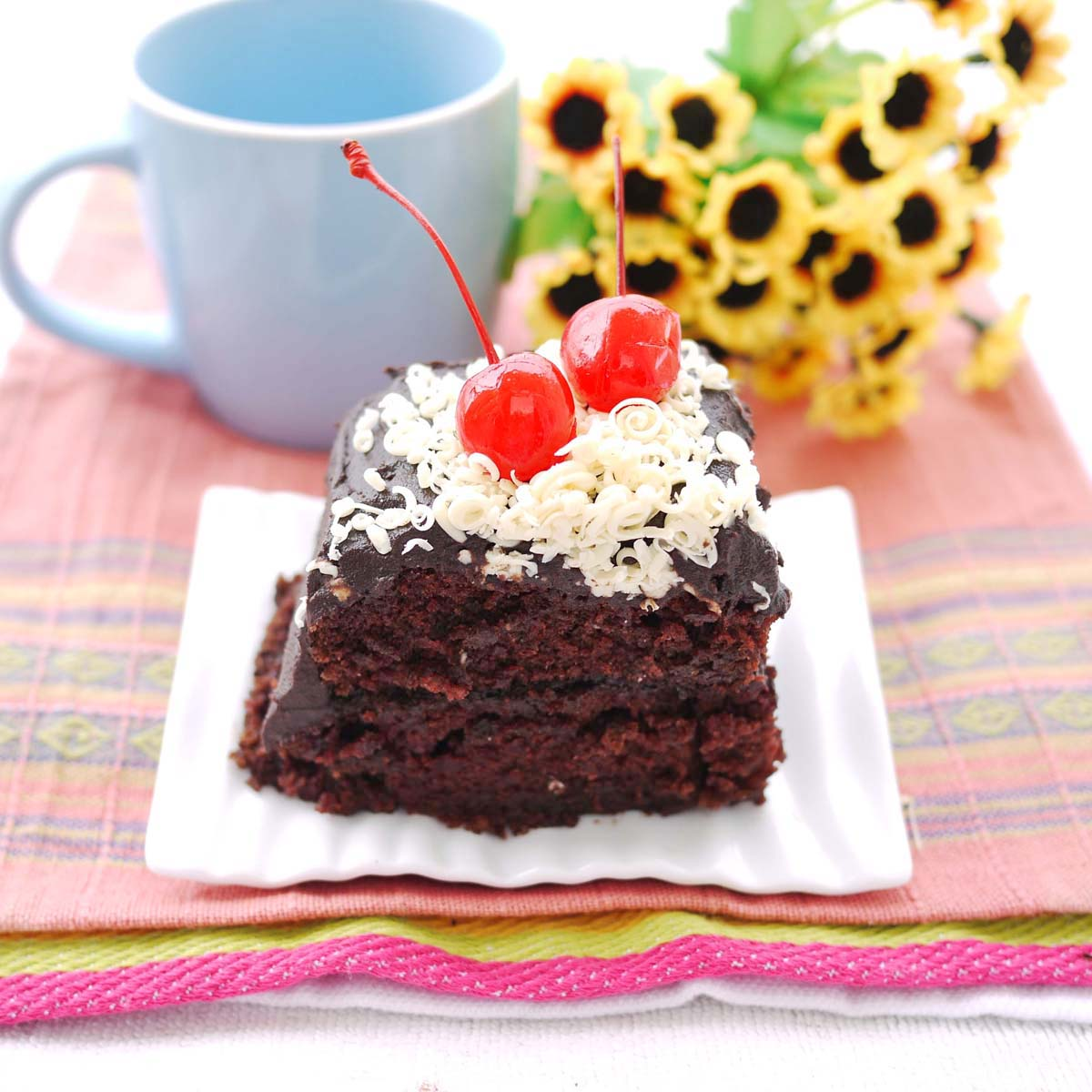 Chocolate Sheet Cake & Sour Cream Chocolate Frosting