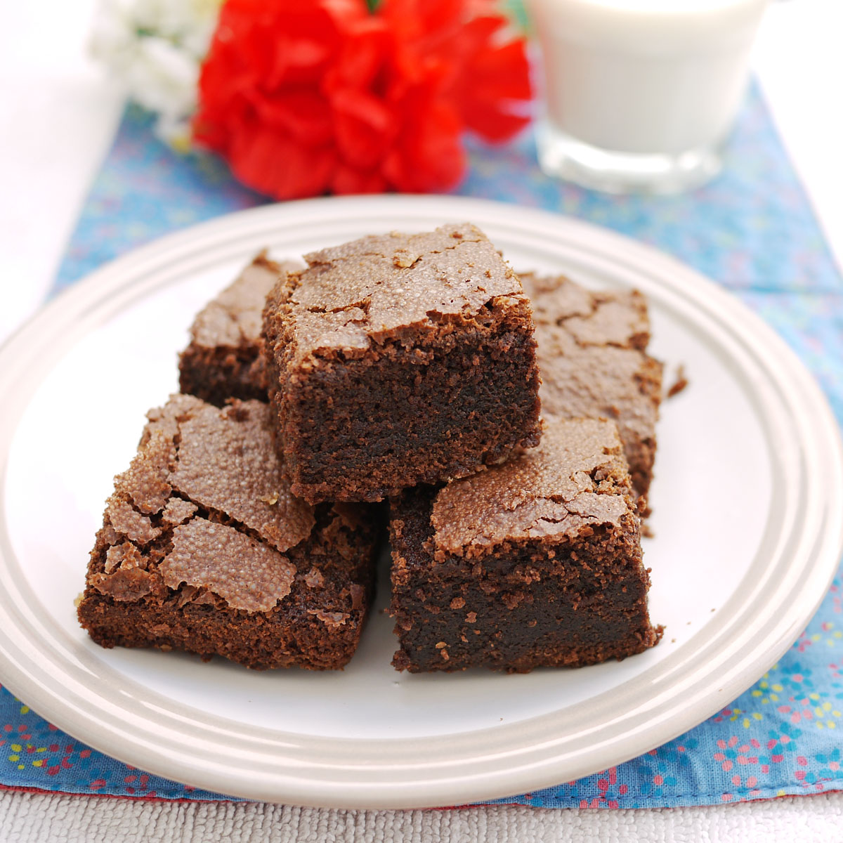 how to make instant brownies