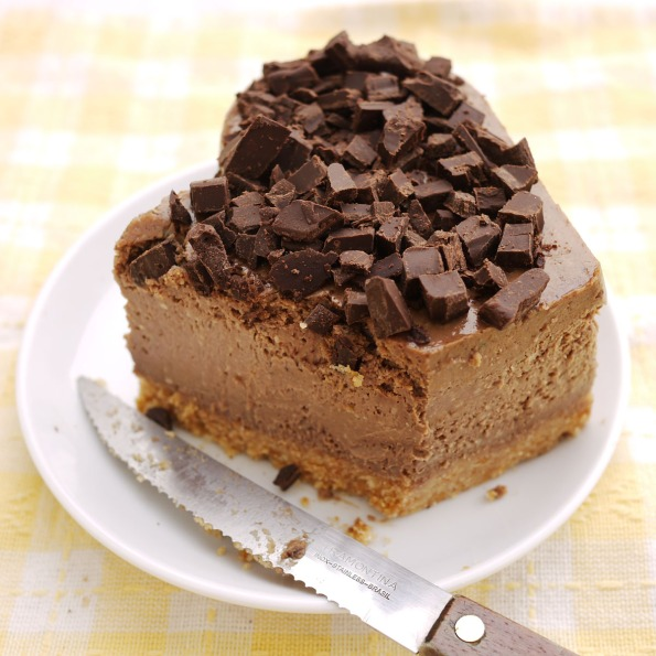coffee chocolate cheesecake 1