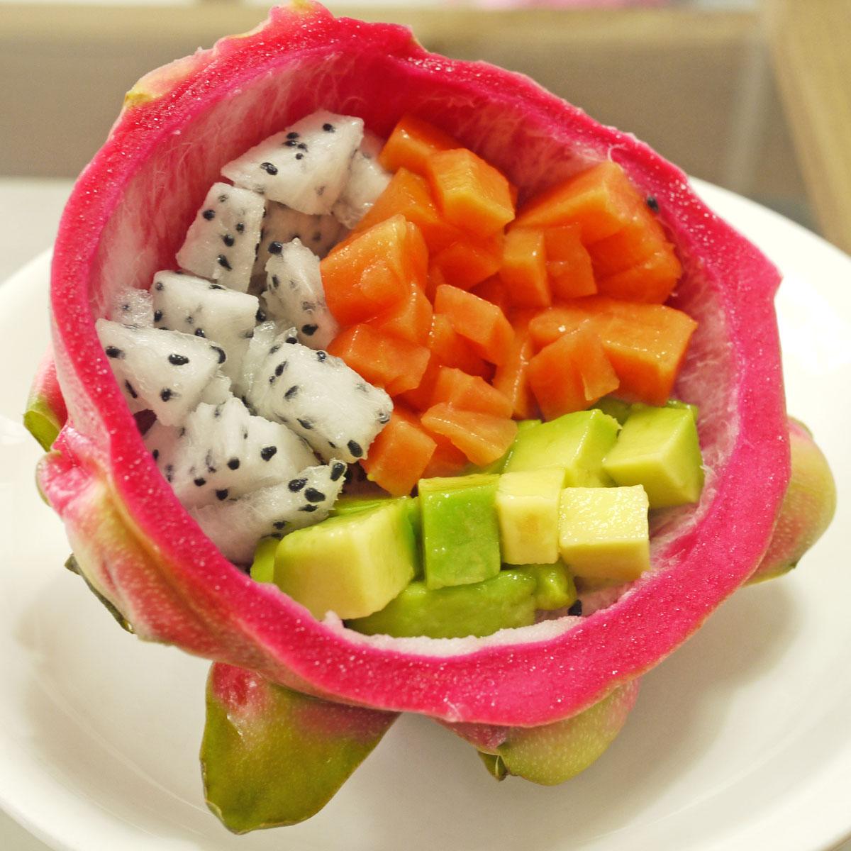It's Baby Crustabakes breakfast fruit cup.