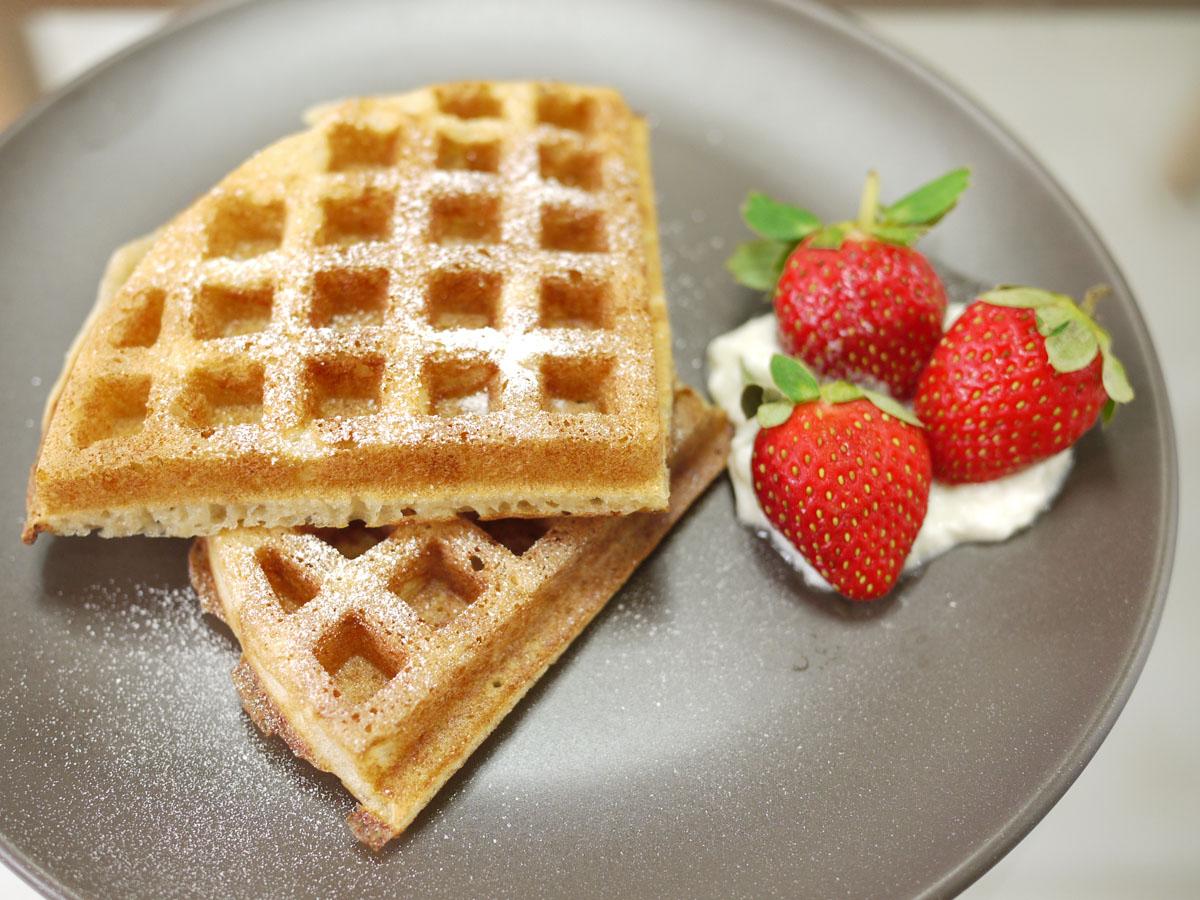 Sourdough Waffles Recipe — Dishmaps