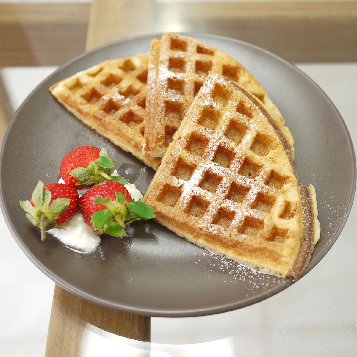 sourdough waffles 2