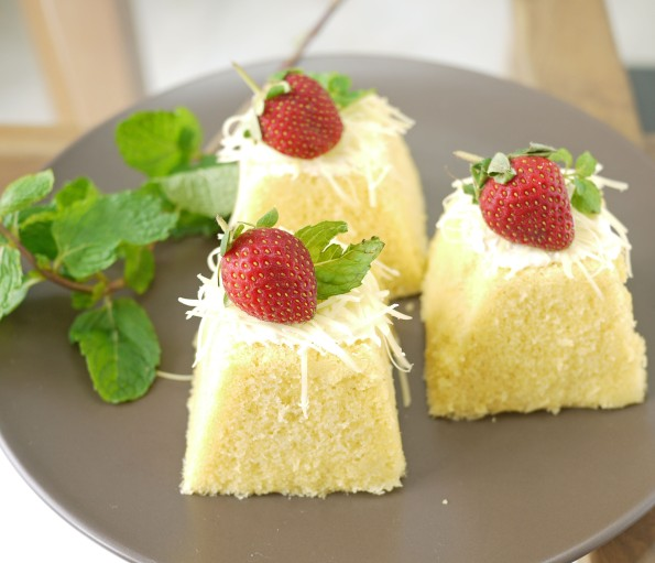 steamed cheesecake