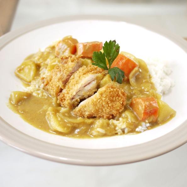 chicken katsu curry 1