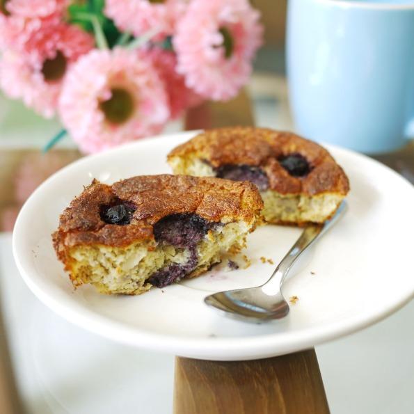 coconut flour banana chiffon cake 2