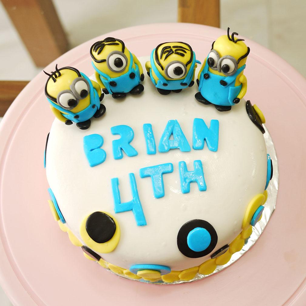 Minions Cake Th Birthday