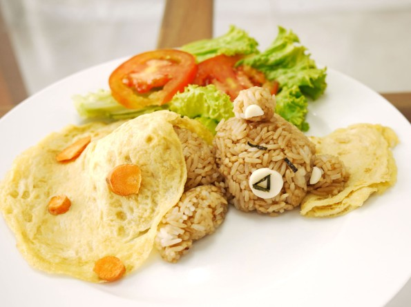 rilakkuma fried rice 2