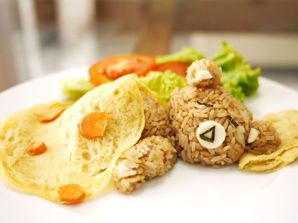 rilakkuma fried rice 3
